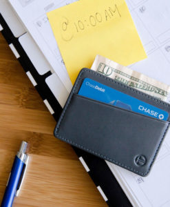 gray tyni wallet calender