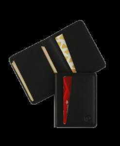 tyni bifold wallet – black